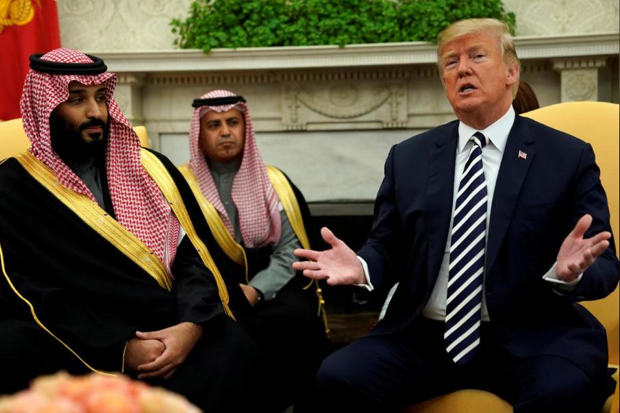 沙特与美国签125亿军购大单 特朗普:真是不差钱