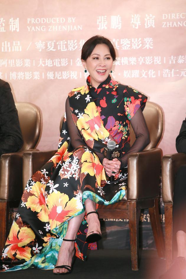 刘嘉玲恭喜黎明当爸 拒绝催婚:他开心就好