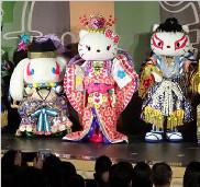 Hello Kitty会表演歌舞伎?日本乐园推出这项新表演