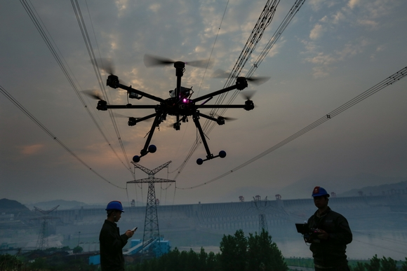 60架次无人机排查供电线路安全问题