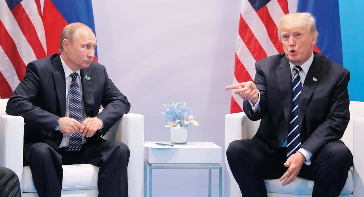 俄专家:特朗普或与俄妥协以防中俄结盟