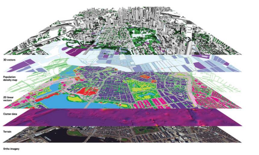 DigitalGlobe地理信息数据解锁5G技术难题