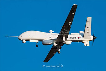 韩国自研远程无人机首飞 造型酷似美MQ9