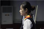 中式台球锦标赛 海航美女参赛惊艳全场
