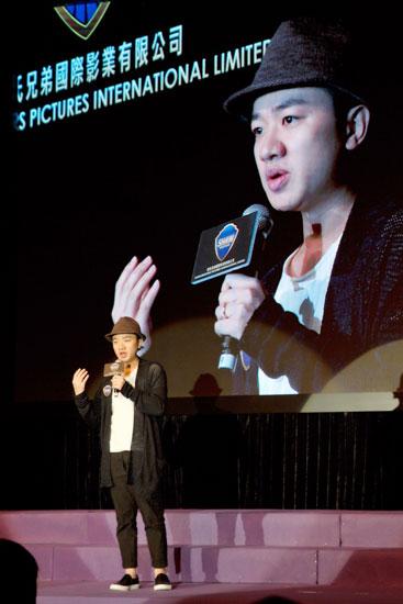 王祖蓝出席演艺内协会 身体力行促发展