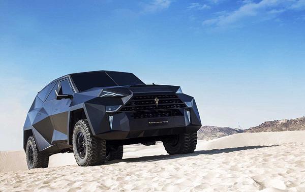 史上最贵SUV震憾登场 酷似蝙蝠战车售价1400万