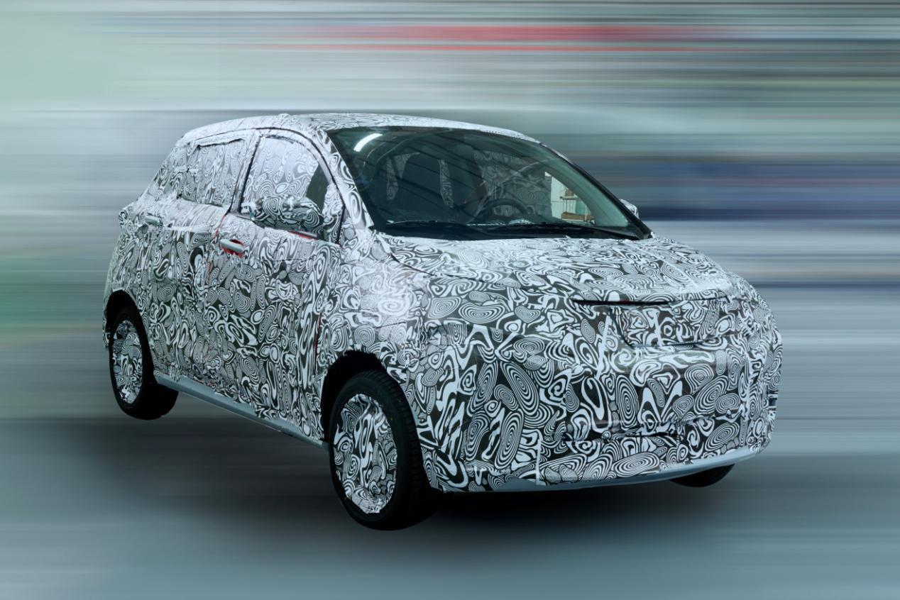 新特首款车DEV1最新谍照曝光 将于年底量产上市
