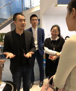 兰和科技接待宜春市市政府领导一行,探讨智能家居发展方向