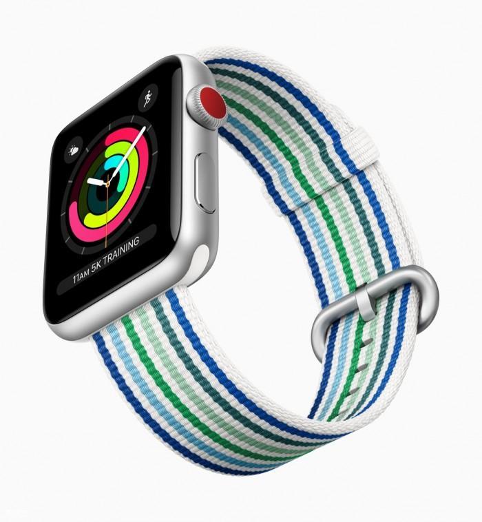 苹果推出全新Apple Watch表带 本月发售