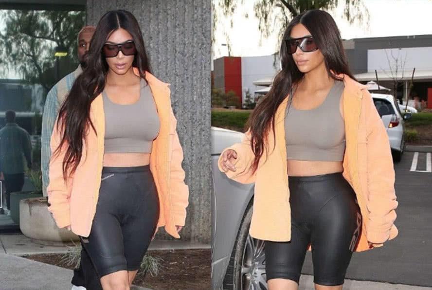 卡戴珊穿的什么裤子?胶皮裤子值5000万美金?