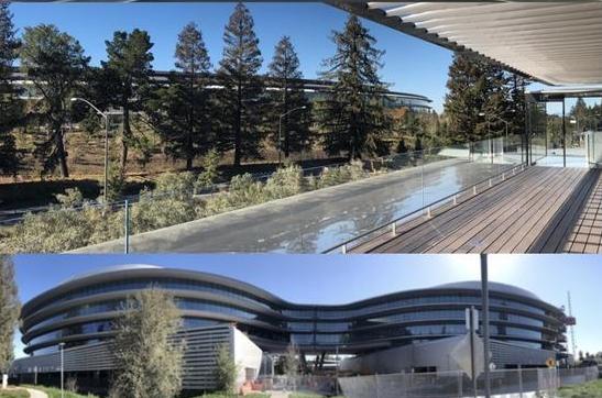 """不只有一个""""太空船"""" 苹果在硅谷大建办公园区"""
