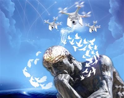 脑控无人机?