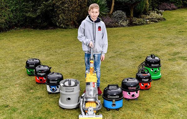 英13岁男孩修理转卖故障吸尘器赢利数千英镑