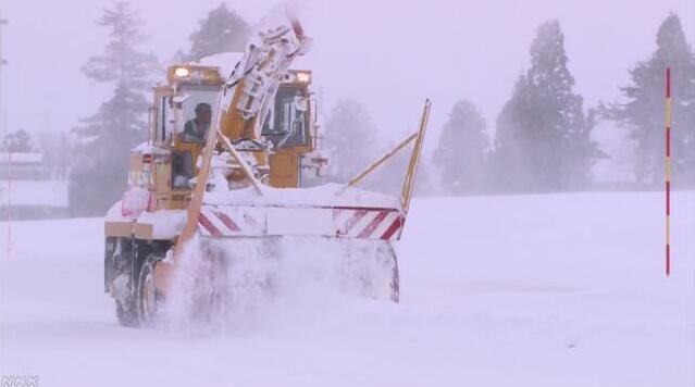日本冬天雪量创纪录 国交省再追加数百亿日元除雪费