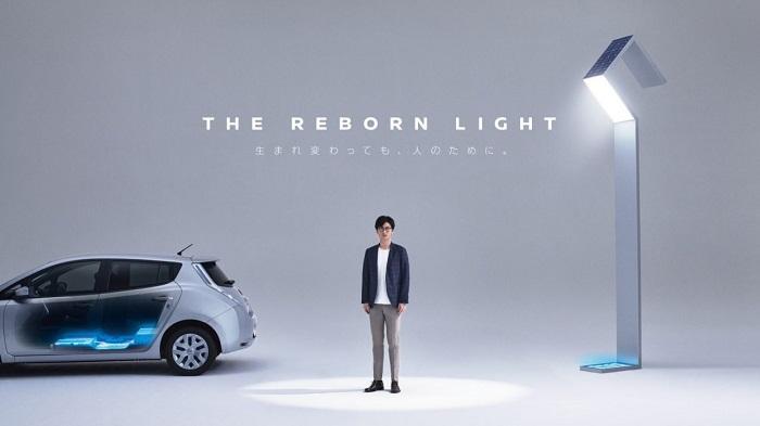 日产推出Reborn Light街灯 无需布置电线