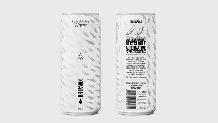 英国公司用铝罐取代塑料瓶 欲解决塑料污染问题