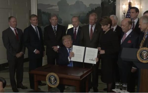 特朗普宣布对600亿美元中国进口商品增税:这