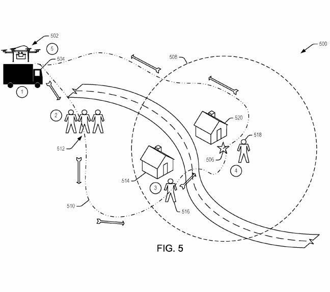 亚马逊申请快递交付无人机新专利 可以理解用户语音和手势