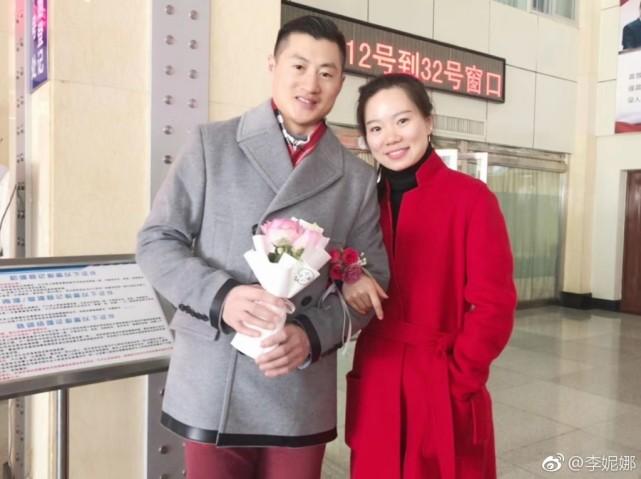 李妮娜官宣雪上情侣领证 祝福张鑫刘忠庆结婚