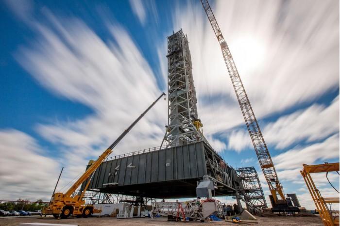 美国会为NASA提供额外资金 打造第二个SLS发射平台