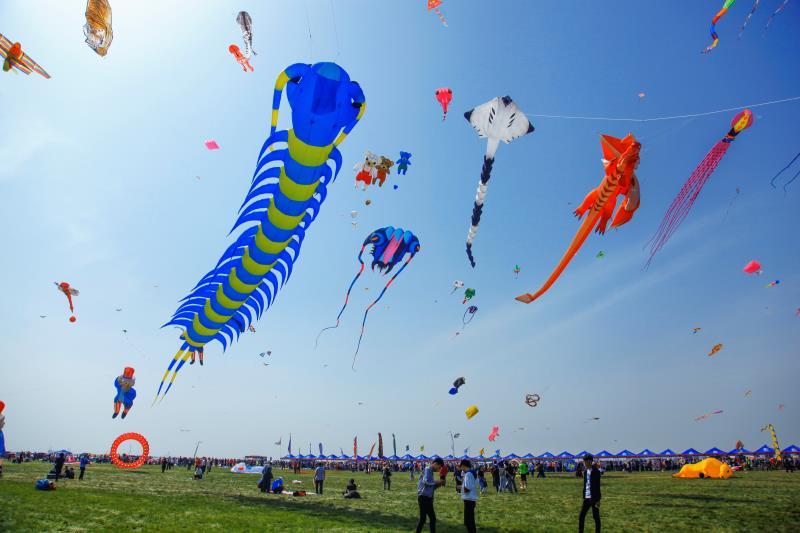 第35届潍坊国际风筝会开幕在即 包罗世界风筝锦标赛等40项活动
