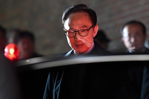 韩媒:检方26日或将首次到看守所讯问李明博