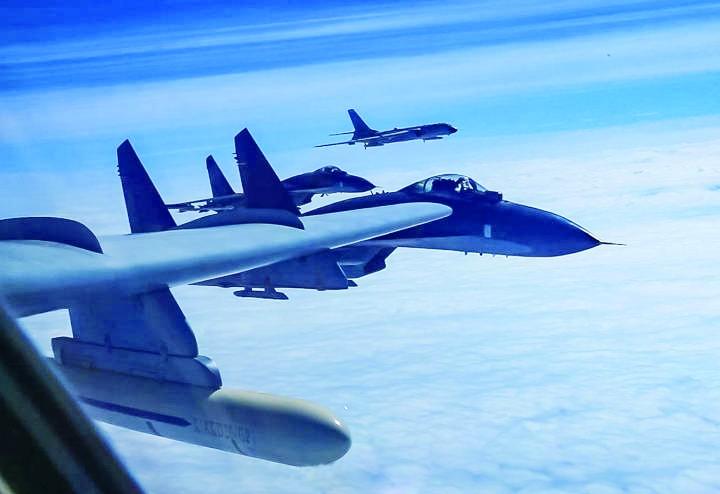 """中国海军将在南海实战化演练 美舰机或成""""磨刀石"""""""