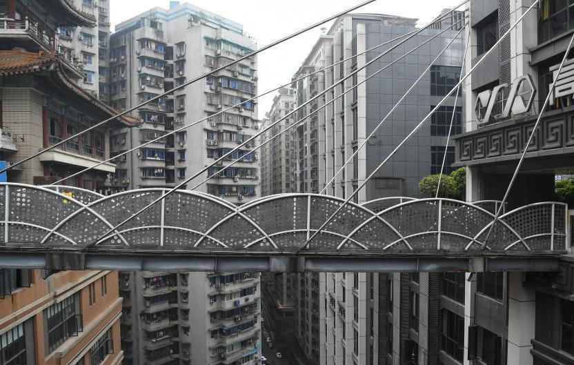 """一楼是广场27楼还是广场 重庆再现""""魔幻""""建筑"""