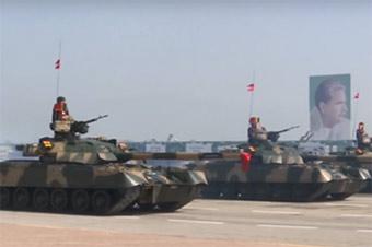 巴基斯坦国庆日阅兵 大批中国武器亮相