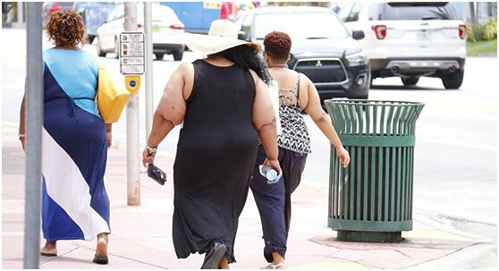 调查:美国成年人肥胖率呈上升趋势
