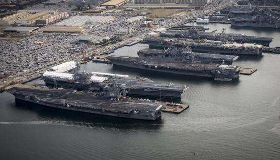 """目标""""355舰队""""!美国欲同时订购两艘福特级航母"""