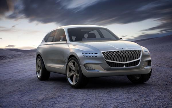 现代捷恩斯电动概念车将亮相纽约车展 续航可达500公里