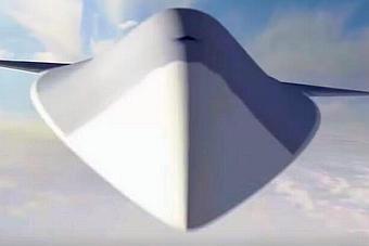 美国第六代战斗机曝光 造型十分科幻