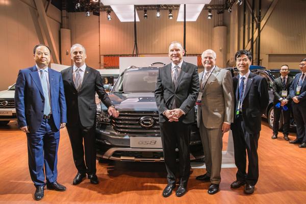 广汽传祺参加全美汽车经销商大会 北美经销商反响热烈
