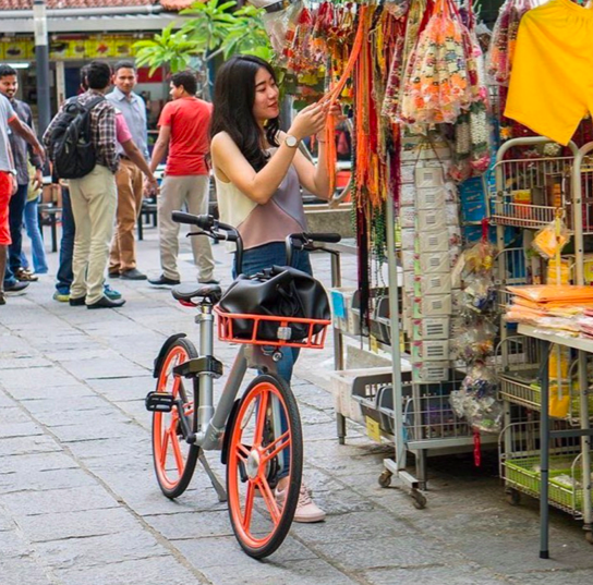 摩拜发布全球春节骑行大数据:海外中国用户骑行量增350%