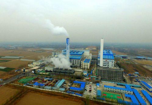 航拍济南垃圾焚烧发电厂 一天吃掉2000多吨垃圾