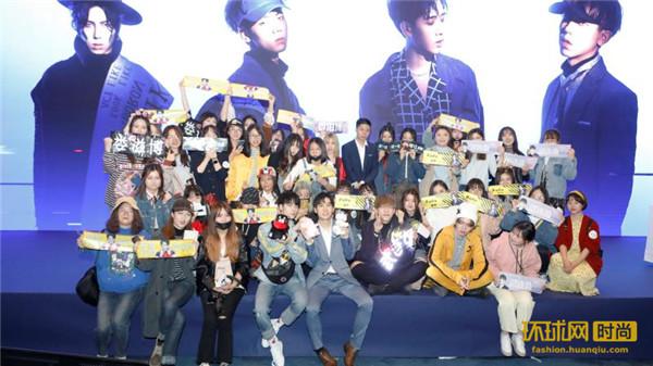 超能唱片CNK男团参加《偶像练习生》成员举行粉丝见面会
