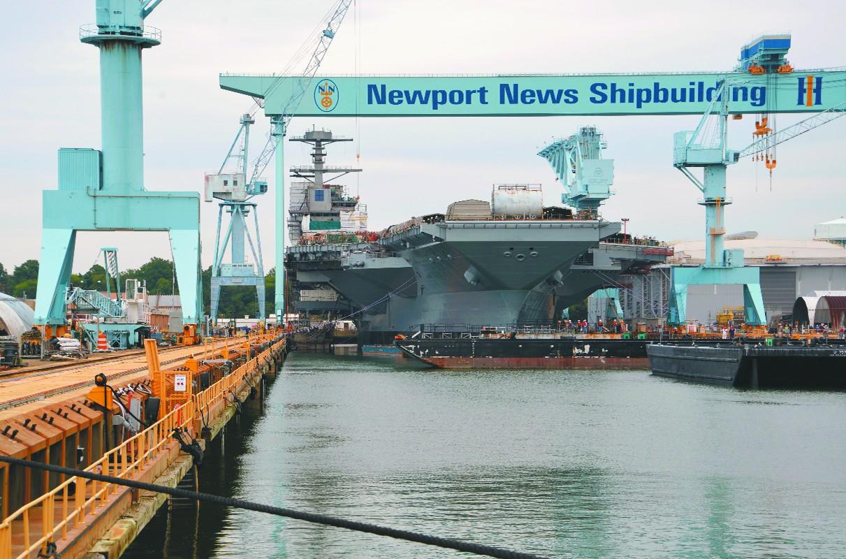 靠谱吗?美军要求同时建两艘航母 能节省25亿美元