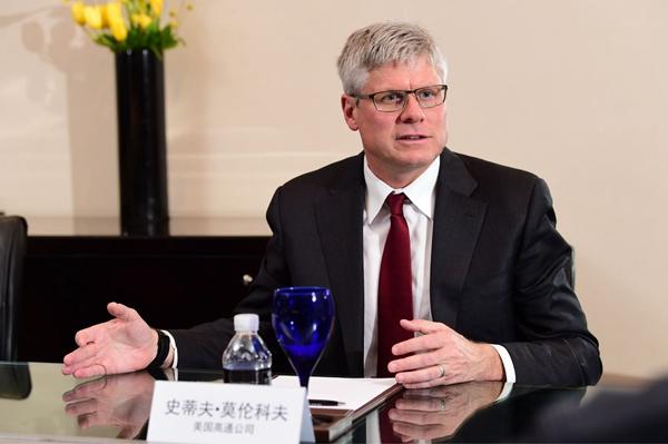 高通CEO莫伦科夫:助推中国5G发展赋能更多合作伙伴