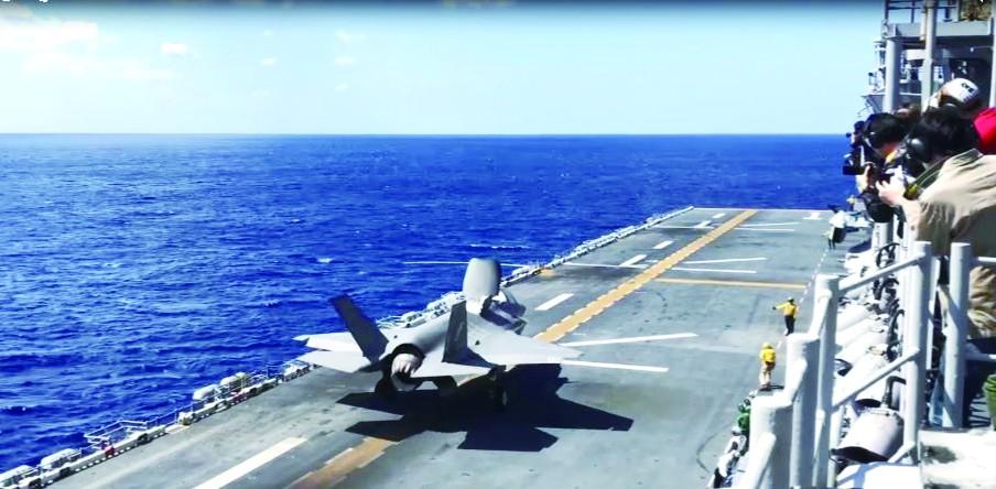 美议员要求用F-35武装台湾 加强对抗大陆能力