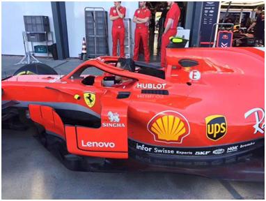 联想首度牵手法拉利 成F1 2018赛季赞助商