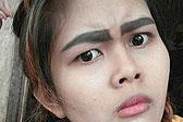 泰女子纹眉失败晒照分享 获免费清除手术