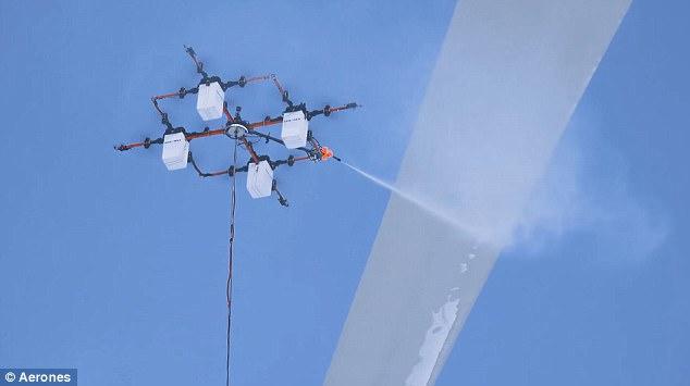 大型全能无人机:能跳伞能灭火还能清洁高楼