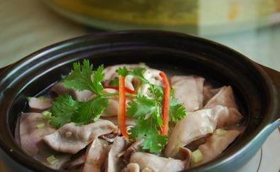 小茴香猪肚汤治胃病