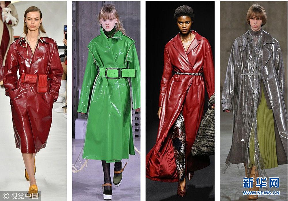 2018时尚圈怎么了?都穿起了雨衣?