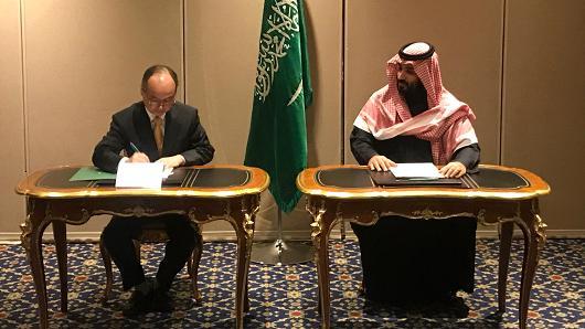 软银与沙特共建全球最大太阳能发电项目