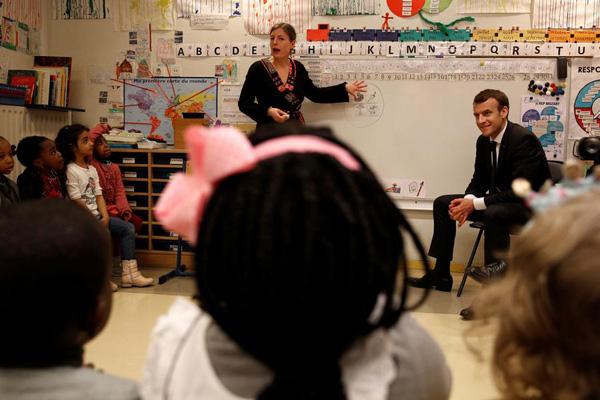 英媒:入学年龄大幅提前!法国总统宣布儿童3岁上学