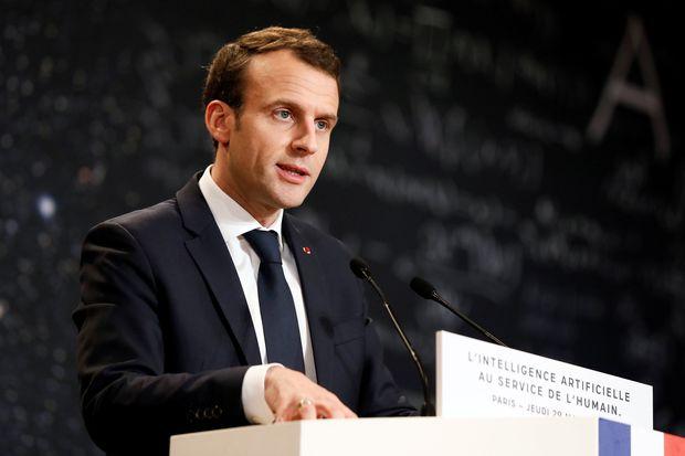 法国要加强AI发展 总统亲上阵请科学家吃饭