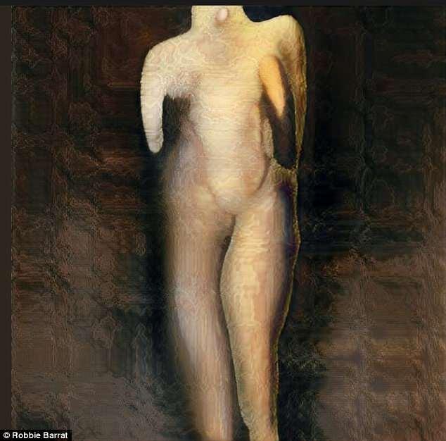 """画风颇""""诡异""""!美高中生用AI创作裸体肖像"""