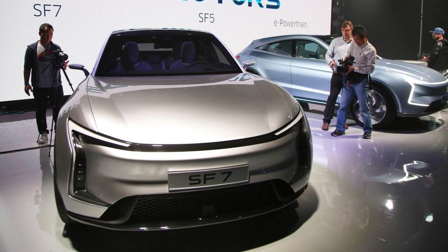 硅谷玩家入场 SF Motors纯电动SUV全球首发